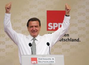 Gerhard Schröder 2005 in München
